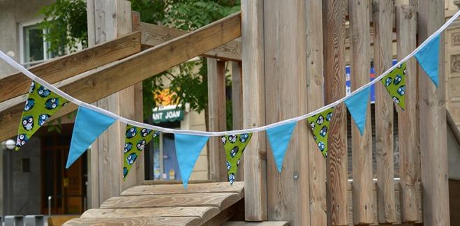 banderola al parc
